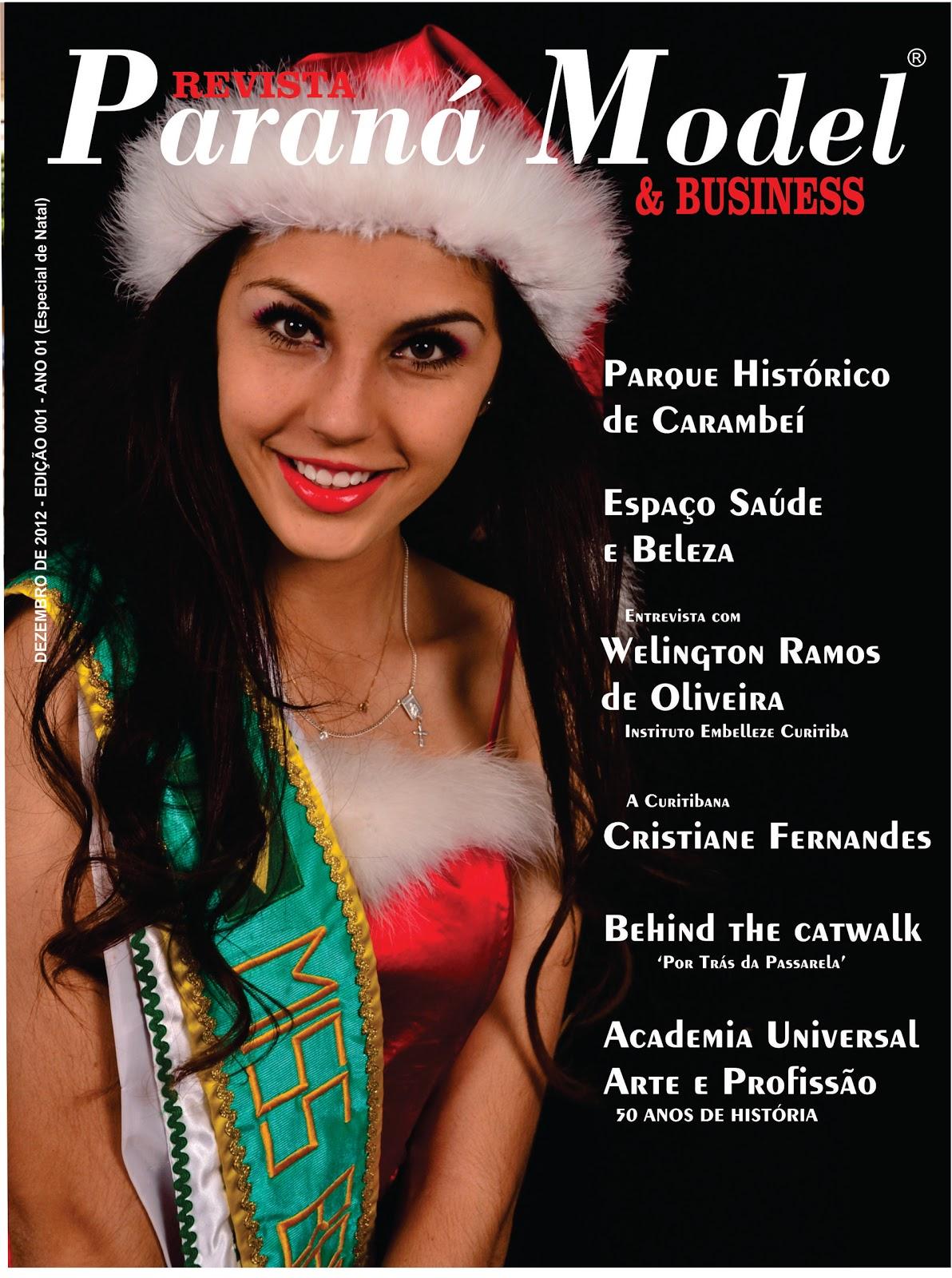 Capa Revista ParanaModel 2012