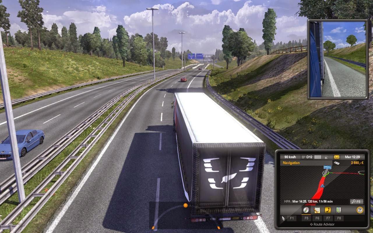 تحميل لعبة شاحنات نقل البضائع 2012 مجانا