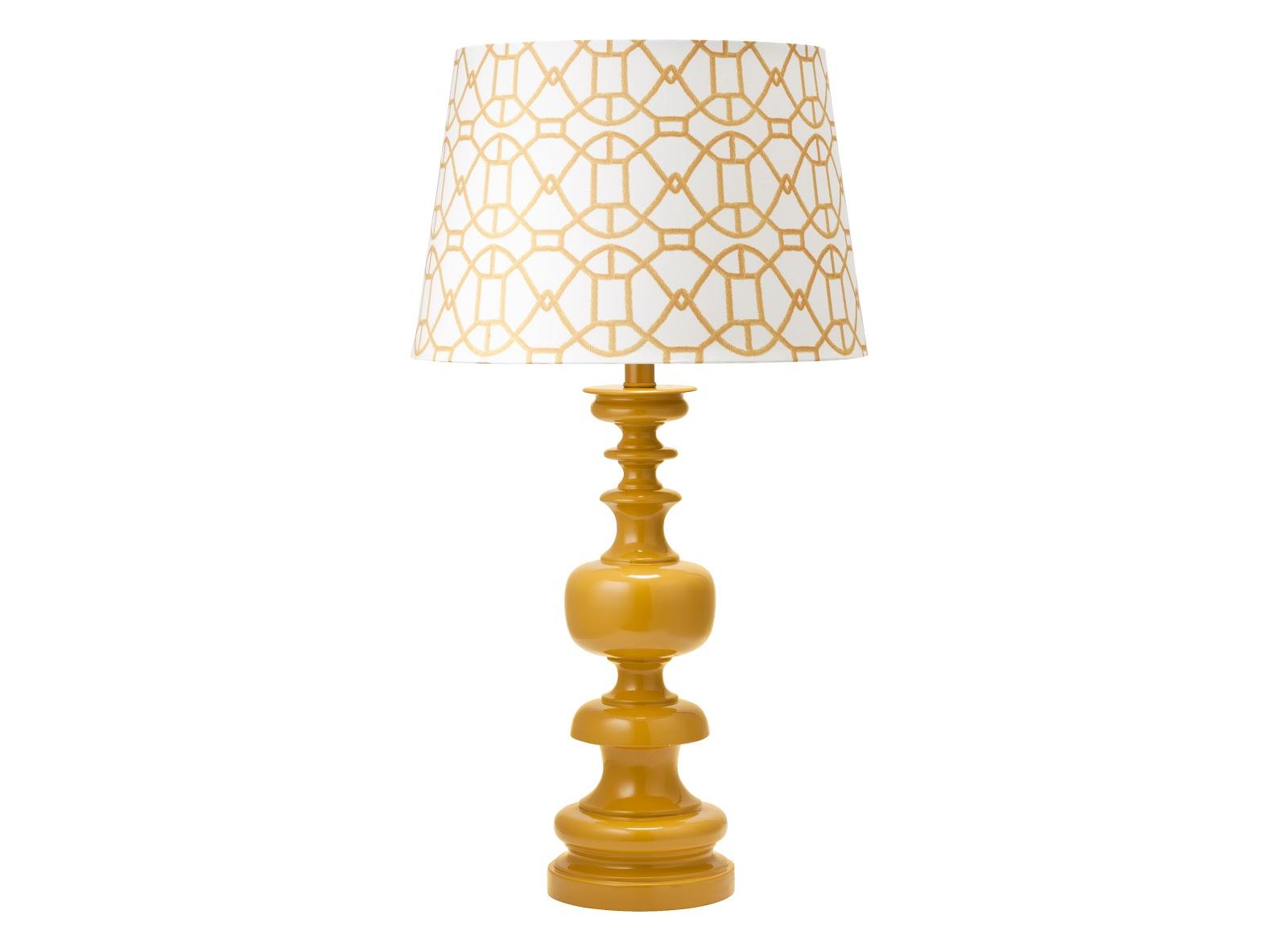 Yellow lamp base - Diy Target Lamp