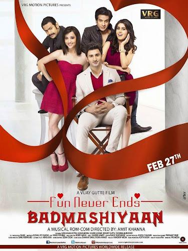 Badmashiyaan (2015) Movie Poster No. 1