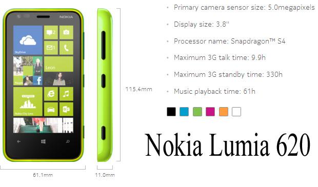 Nokia Lumia 620 Инструкция