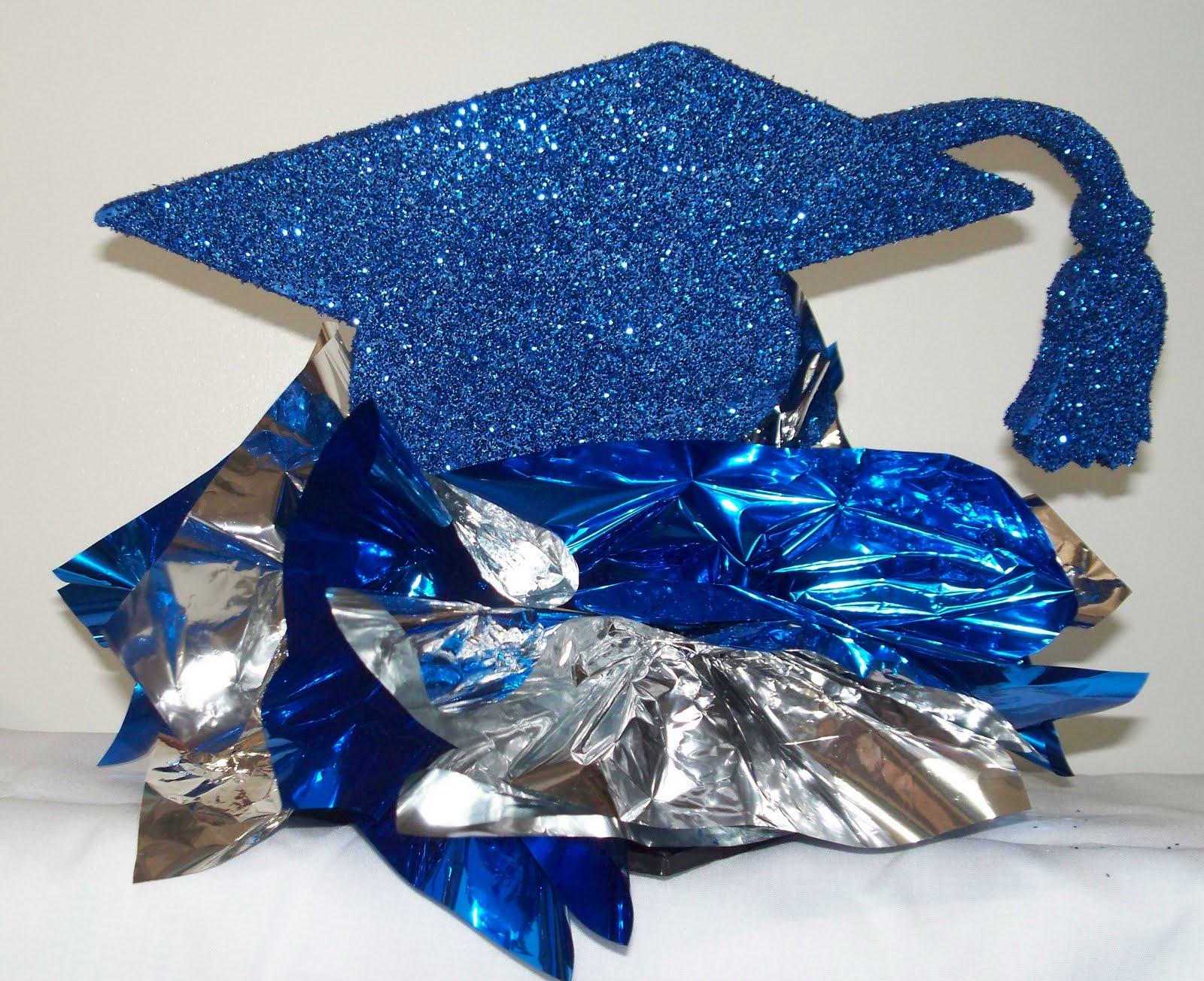 High School Graduation Centerpiece Ideas