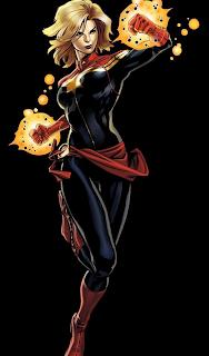 Ms. Marvel – The Captain Marvel suit