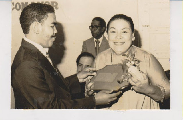 Oscar Lopez Reyez y Casandra Damiron