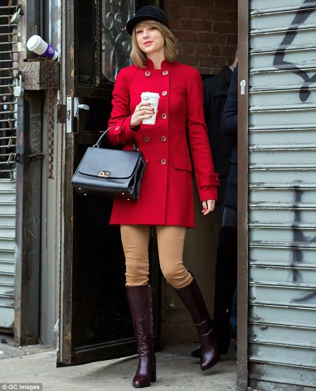 Taylor Swift Equestrian-Inspired Ensemble: Out in New York City