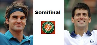 Imagen Semifinal Federer vs Djokovic