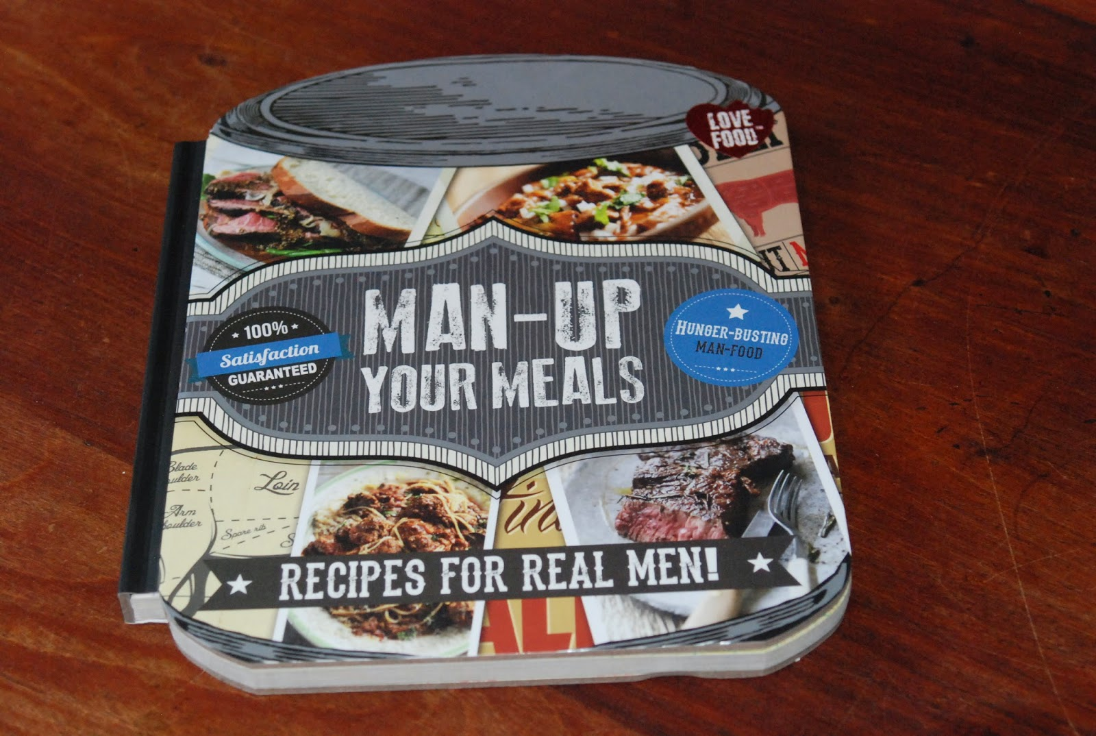 Man up an awesome cookbook for the men in your life fathersday beer forumfinder Image collections