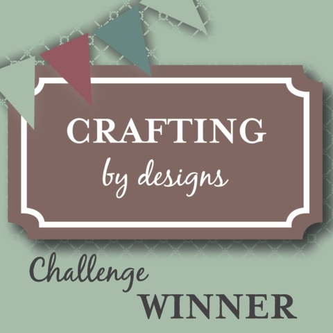 Winner Crafting by desings corners, borders and frames challenge