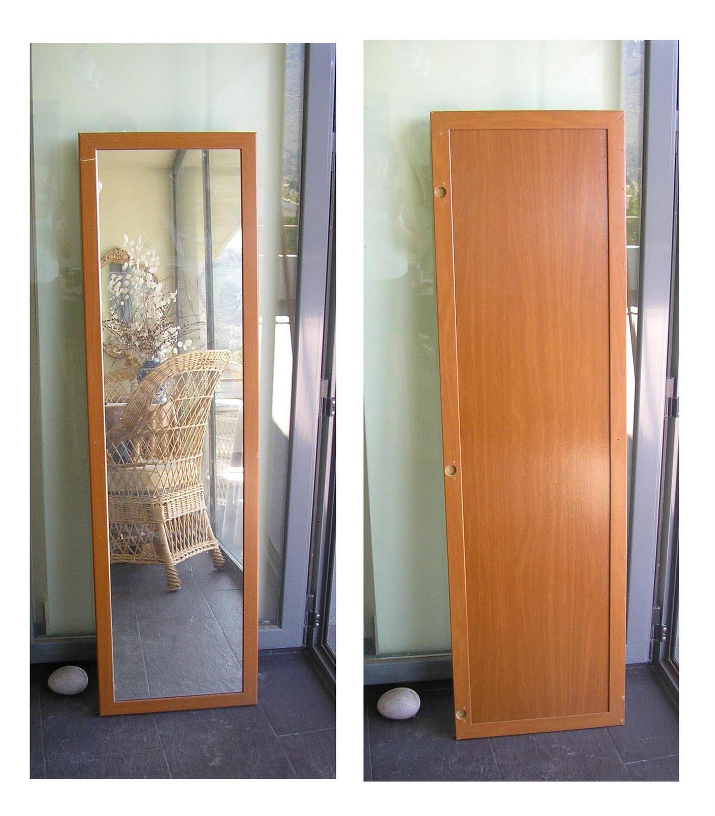 badulake de ana espejo de una puerta de armario On espejo para pegar en puerta