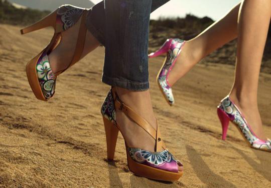 zapatos de tacón primavera verano 2011 Fornarina