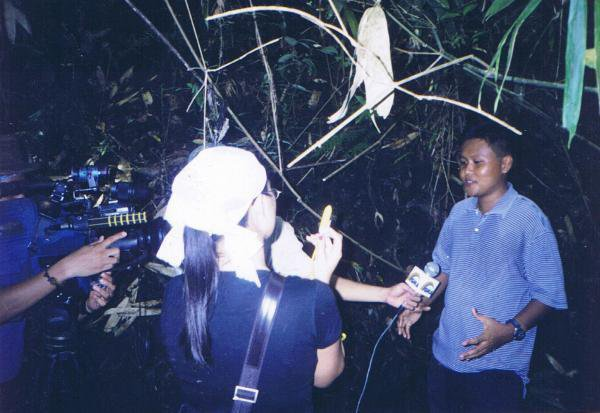 A TV interview