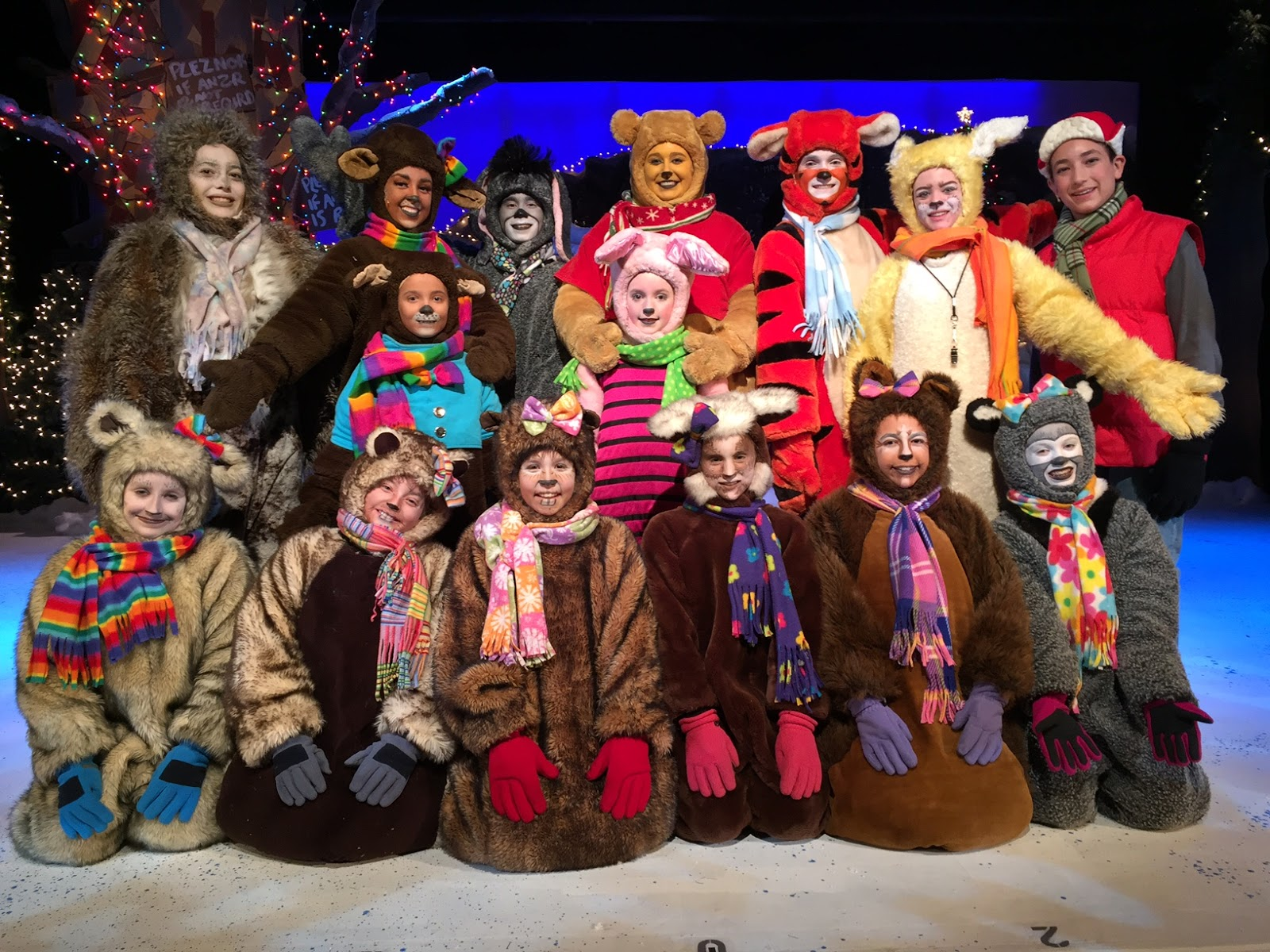 review a winnie the pooh christmas tail valley youth theatre - A Christmas Tail