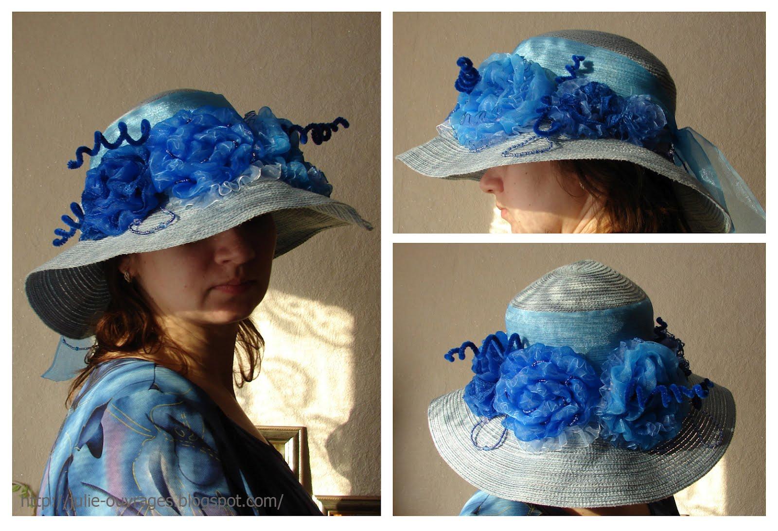 Декор шляпы своими руками