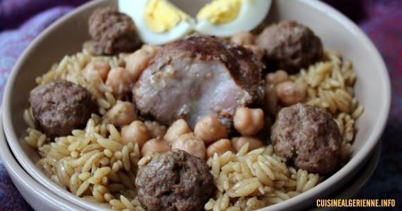 Tlitli l 39 alg rienne cuisine algerienne - Recette de cuisine algerienne moderne ...