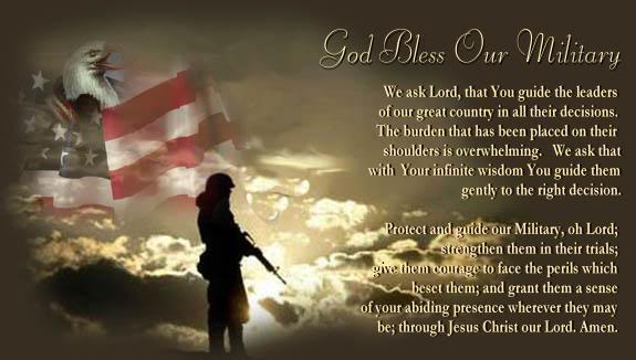 God bless the American military