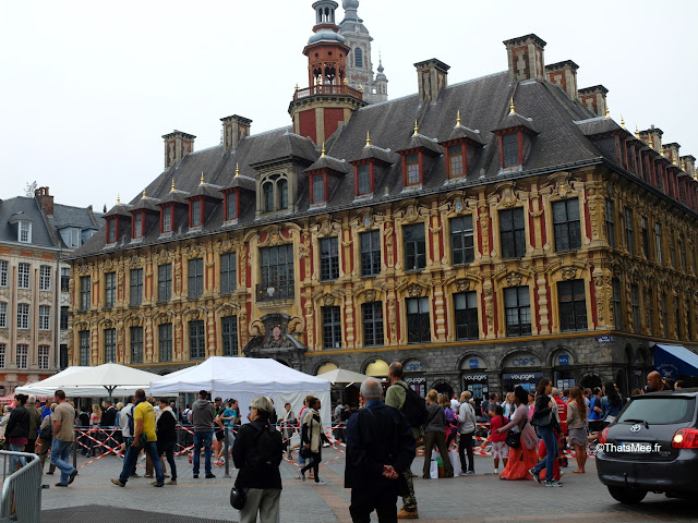 Braderie de LiIle 2014 et 2015, bâtiment Opéra centre-ville Vieux-Lille ThatsMee.fr