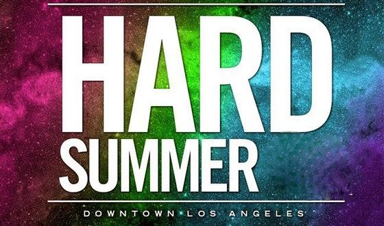 Hard Summer Line Up 2014
