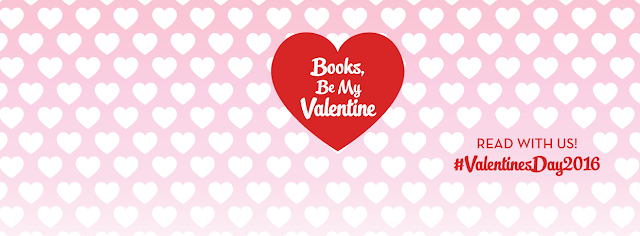 Books, Be My Valentine banner