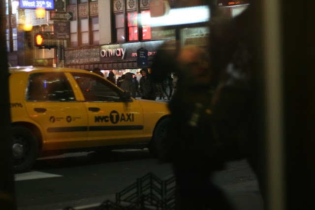 NY yellow cab Manhattan