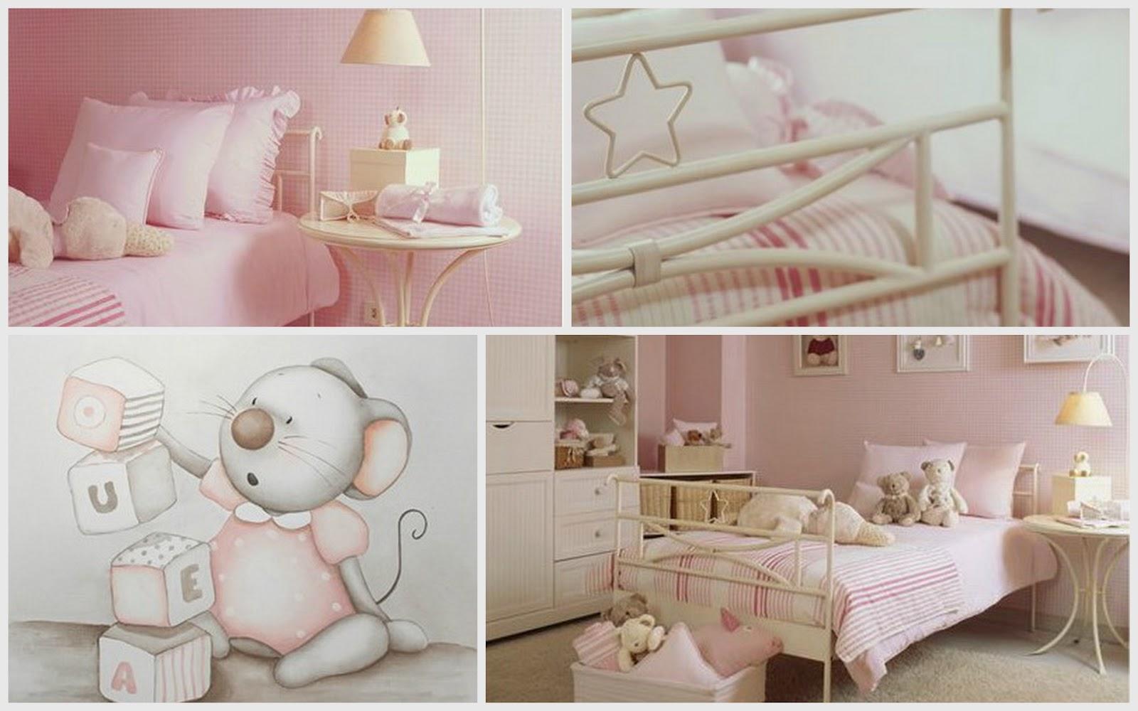 En casa de t a gretel ideas deco para una habitaci n de ni a - Dibujos para habitacion nina ...