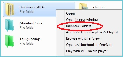 How to Change Folder Colors in Windows using Rainbow Folders