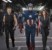 Hawkeye, Cap and Black Widow