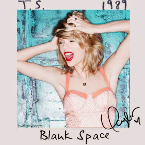 Blank space lyrics taylor swift 1989