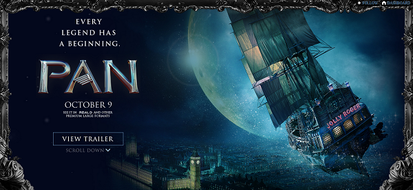 Pan 2015 Movie Trailer