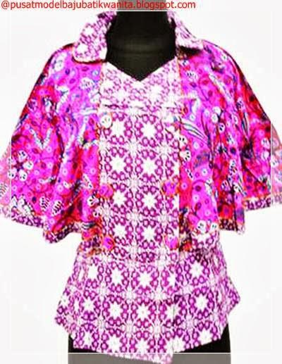Model Baju Batik Wanita Sembilan Pilihan Variasi Gambar