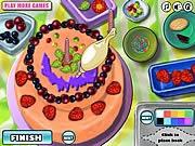 Bánh sinh nhật kiểu mới, chơi game làm bánh hay tại gamevui.biz