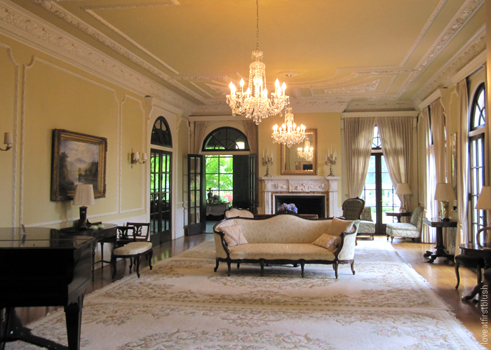 Inside the historic Hycroft Manor