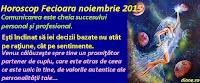 Horoscop Fecioară noiembrie 2015