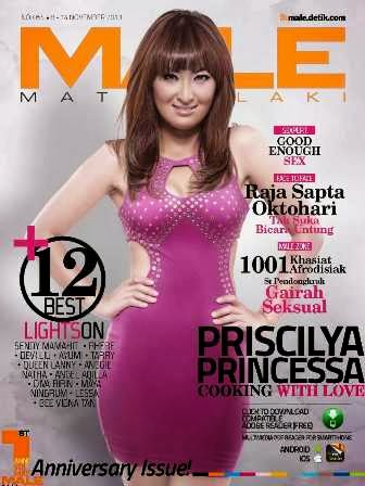 Majalah MALE 054 - Priscilya Princessa