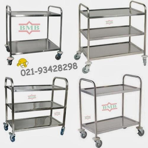 Trolley Laundry : Linen trolley , Trolley baju bersih,Trolley baju ...