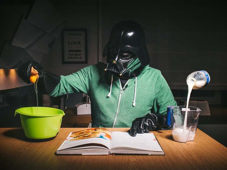 12-Multitasking-Pawel-Kadysz-Photographs-of-Darth-Vader-away-from-Star-Wars-www-designstack-co