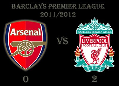 Arsenal vs Liverpool Barclays Premier League Results