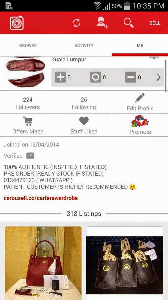 CAROUSELL APPS FOR BUSINESS ONLINE