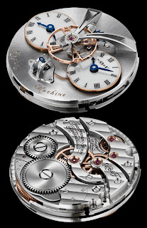 mouvement remontage manuel Montre MB&F Legacy Machine N°1