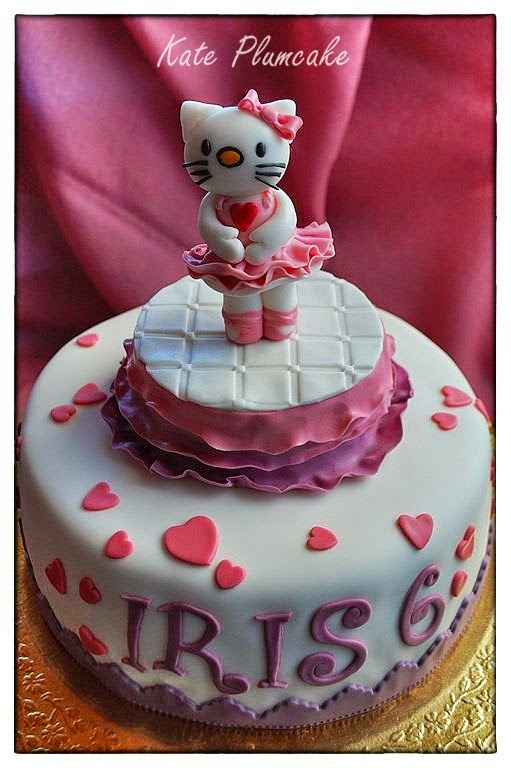 hello kitty ballerina - hello kitty ballet dancer cake