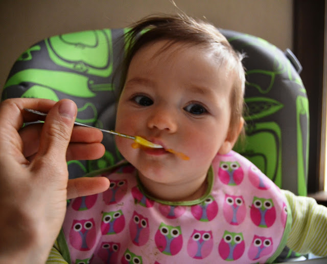 Baby Solid Foods Update