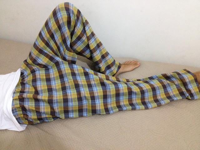 Pijama altı dikimi