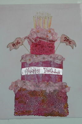 100th  Birthday Embroiderers Guild UK