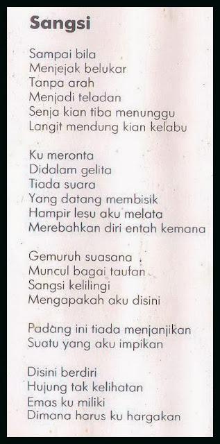 Lirik Strangers Sangsi