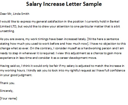 how to write salary increment letter how to write salary increment letter