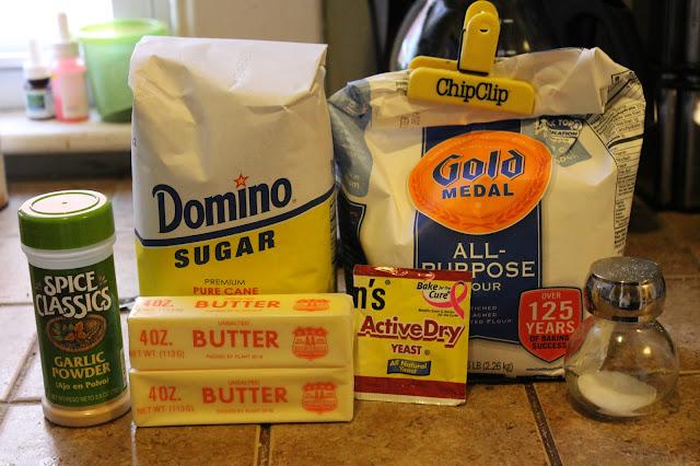 Ingredients, breadstick ingredients