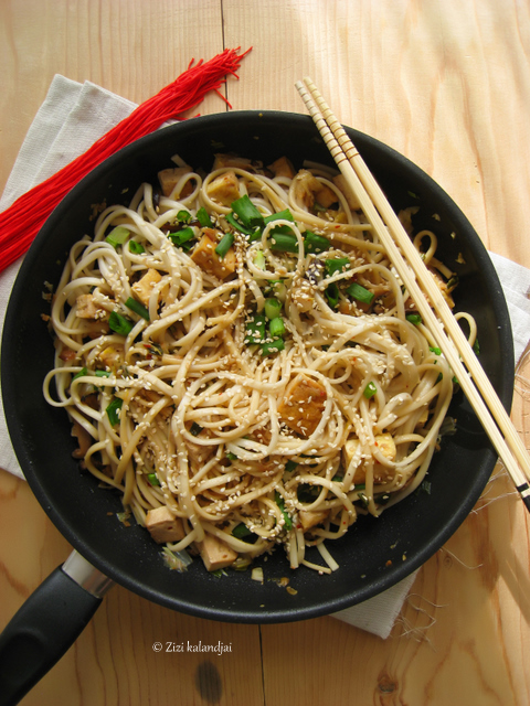 Spicy Udon Noodles with Cabbage and Shiitake : Zizi's Adventures ...