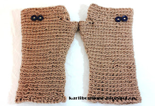 Fingerless Gloves Wristwarmers by karliboutique on Etsy