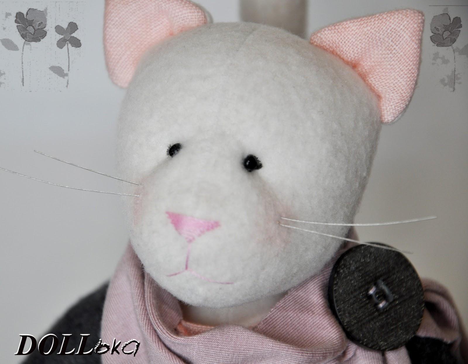 кошка тильда текстильная игрушка ручной работы