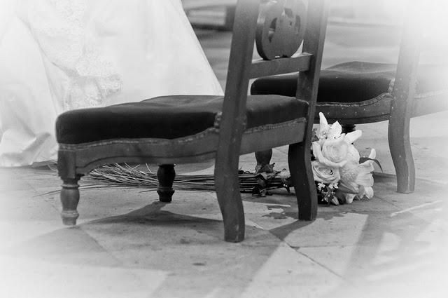 Bouquet mariée lys blog mariage