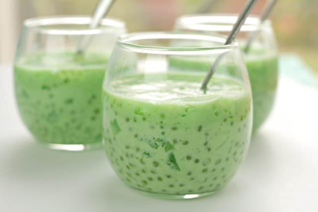 Buko Pandan Filipino Salad
